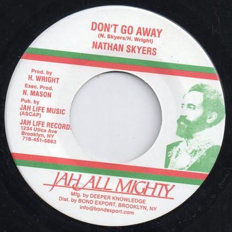 "(7"") NATHAN SKYERS - DON'T GO AWAY / DUB"