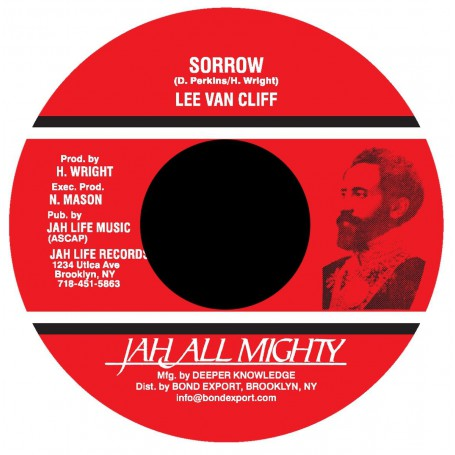 "(7"") LEE VAN CLIFF - SORROW / JAH LIFE - DUB STYLE"
