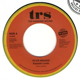 "(7"") PETER BROGGS - RASTAFARI LIVETH - LIVETH DUB"
