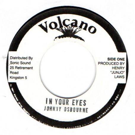 "(7"") JOHNNY OSBOURNE - IN YOUR EYES / VERSION"