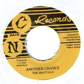 "(7"") THE MAYTALS - ANOTHER CHANCE / TOMMY MCCOOK - ALWAYS ON SUNDAY"