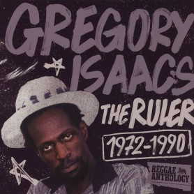 (LP) GREGORY ISAACS - THE RULER (REGGAE ANTHOLOGY)