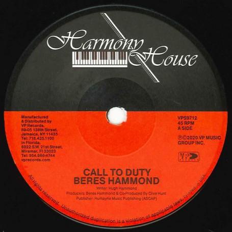 "(7"") BERES HAMMOND - CALL TO DUTY / SURVIVAL"