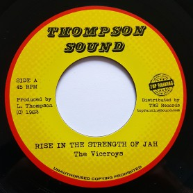 "(7"") THE VICEROYS - RISE IN THE STRENGHT OF JAH / VERSION"