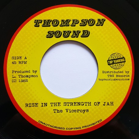 "(7"") THE VICEROYS - RISE IN THE STRENGTH OF JAH / VERSION"