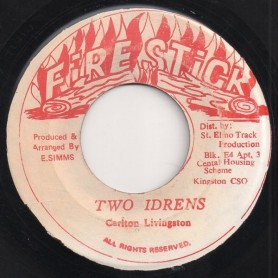 "(7"") CARLTON LIVINGSTON - TWO IDRENS / VERSION"