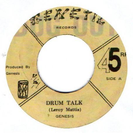 """(7"""") GENESIS - DRUM TALK / FOREVER DRUMS"""
