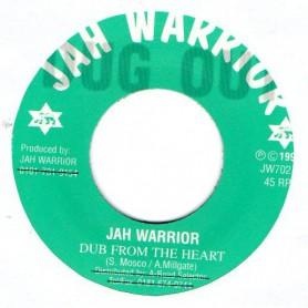 """(7"""") JAH WARRIOR - DUB FROM THE HEART / HEARTICAL DUB"""