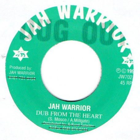 "(7"") JAH WARRIOR - DUB FROM THE HEART / HEARTICAL DUB"