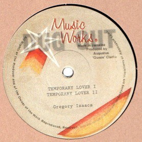 "(12"") GREGORY ISAACS - TEMPORARY LOVER / DUB"