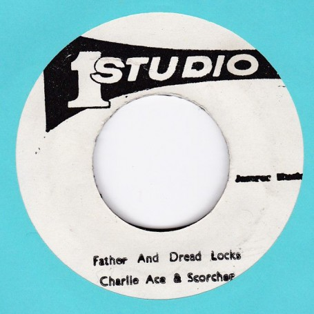 "(7"") CHARLIE ACE - FATHER & DREAD LOCKS / SOUND DIMENSION - VERSION DREAD"