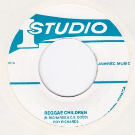 "(7"") ROY RICHARDS - REGGAE CHILDREN / SOUND DIMENSION BAND - REGGAE CHILDREN (VERSION)"