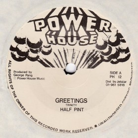 "(7"") HALF PINT - GREETINGS / VERSION"