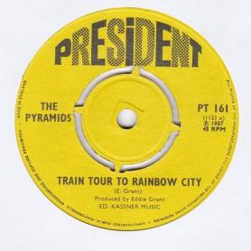 "(7"") THE PYRAMIDS - JOHN CHEWEY / TRAIN TOUR TO RAINBOW CITY"