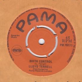 "(7"") LLOYD TERRELL - BIRTH CONTROL / VAL BENNET - RETURN TO PEACE"