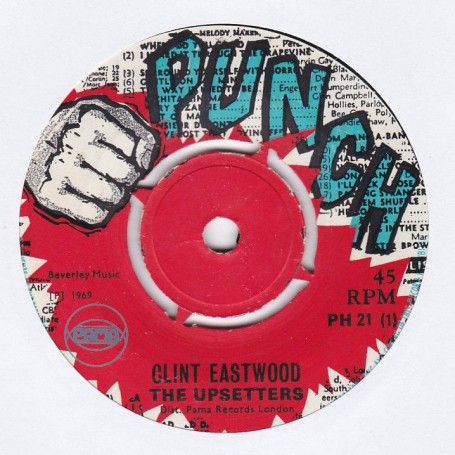 "(7"") THE UPSETTERS - CLINT EASTWOOD / LENOX BROWN - LENOX MOOD"