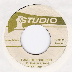 "(7"") PETER TOSH - I AM THE TOUGHEST / SOUND DIMENSION - TOUGHEST VERSION"