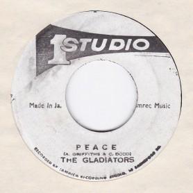 "(7"") THE GLADIATORS - PEACE / BRENTFORD DISCO SET - PEACE VERSION"