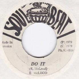 "(7"") ENOS McLEOD - DO IT / RANKING GORGAN & THE HONEY BUNCH - DO IT PAT 2"