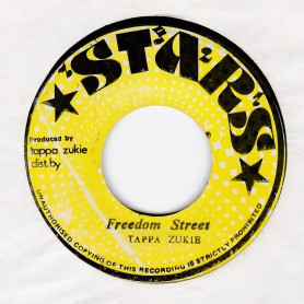 "(7"") TAPPA ZUKIE - FREEDOM STREET / VERSION"