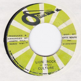 "(7"") CULTURE - LION ROCK / VERSION"