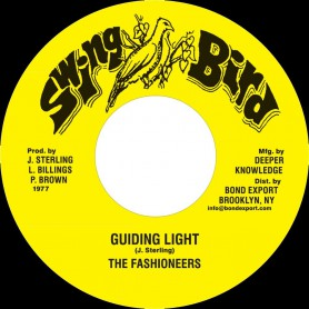 """(7"""") THE FASHIONEERS - GUIDING LIGHT / VERSION"""
