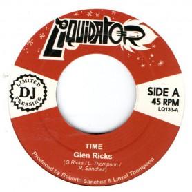 """(7"""") GLEN RICKS - TIME / WOMAN"""