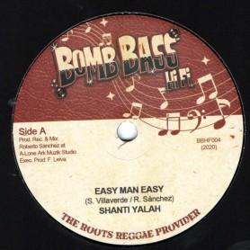 "(7"") SHANTI YALAH - EASY MAN EASY / LONE ARK RIDDIM FORCE - EASY MAN DUB"