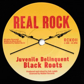 "(7"") BLACK ROOTS - JUVENILE DELINQUENT / DUB JUDAH - DUB THE YOUTH"