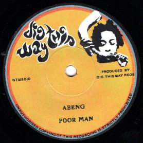 """(7"""") ABENG - POOR MAN / TOGETHER SOUL ROCKIN"""