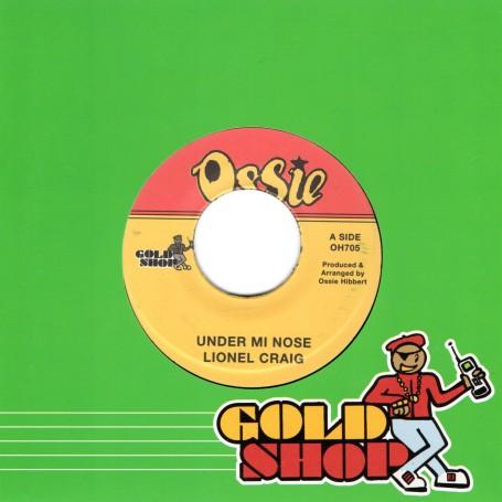 """(7"""") LIONEL CRAIG - UNDER MI NOSE / RICKY STEREO - JEALOUSY LOVER"""