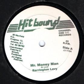 """(10"""") BARRINGTON LEVY - MR MONEY MAN / SUPER CHICK - ME A CHAMPION"""