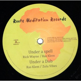 "(12"") RICK WAYNE - UNDER A SPELL / JUNIOR ROY - JAH JAH HIGHSIDE"