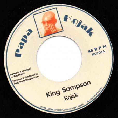 """(7"""") KOJAK - KING SAMPSON / VERSION"""