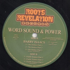 "(12"") BARRY ISAACS - NO JUSTICE / EARTH TREMOR"