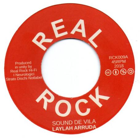 "(7"") LAYLAH ARRUDA - SOUND DE VILA / BA-BOOM BRASS - NAIPE DE VILA"