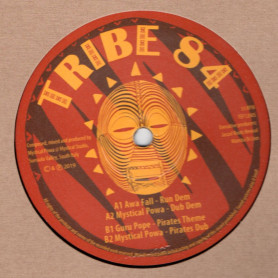 "(12"") AWA FALL - RUN DEM / GURU POPE - PIRATES THEM"