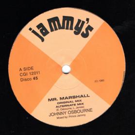 "(12"") JOHNNY OSBOURNE - MR MARSHALL / DUB MIX"