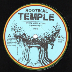 "(12"") RAS HASSEN TI - THEY WILL COME / BENYAH - HORNS VERSION"