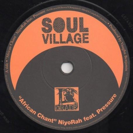 "(7"") NIYORAH Feat PRESSURE - AFRICAN CHANT / YAHADANAI - WADADA"