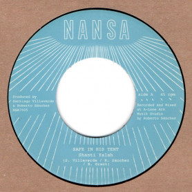 "(7"") SHANTI YALAH - SAFE IN HIS TENT / LONE ARK RIDDIM FORCE - SAFE IN HIS DUB"
