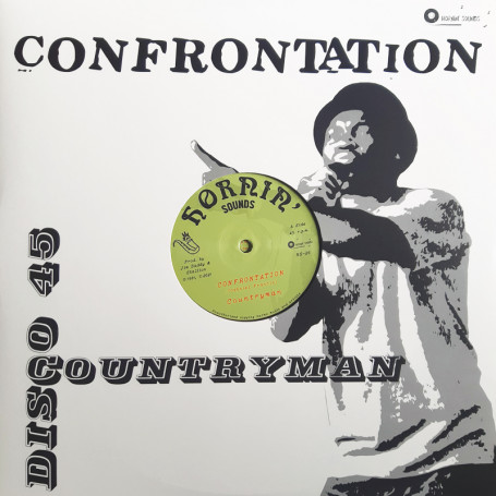 "(12"") COUNTRYMAN (Stallion) - CONFRONTATION / LIVING ON BORROWED TIME"