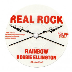 "(7"") ROBBIE ELLINGTON - RAINBOW / THE HERB - RAINBOW DUB"