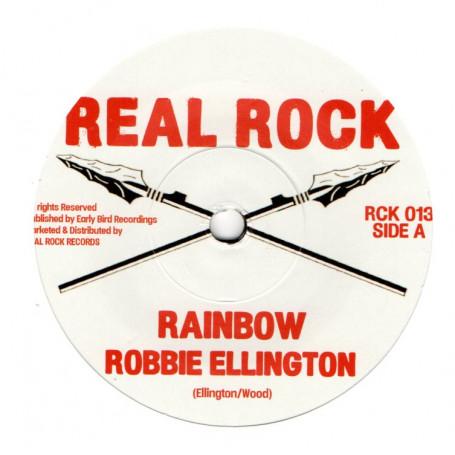 "(7"") ROBBIE ELLINGTON - RAINBOW / THE HERB - RAINBOW DUB"