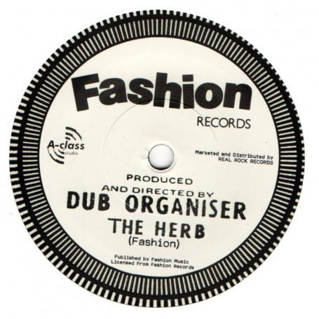 """(7"""") DUB ORGANISER - THE HERB / HERBAL DUB"""