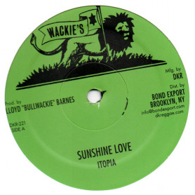 "(12"") ITOPIA -SUNSHINE LOVE / KEEP A ROCKING / GET OVER"