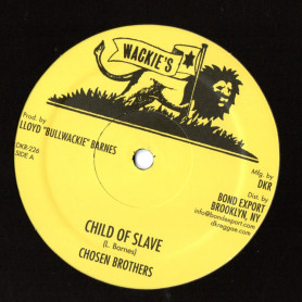 "(12"") CHOSEN BROTHERS - CHILD OF SLAVE / I LOVE YOU"
