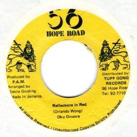 "(7"") OKU ONUORA - REFLECTION IN RED / DUB"