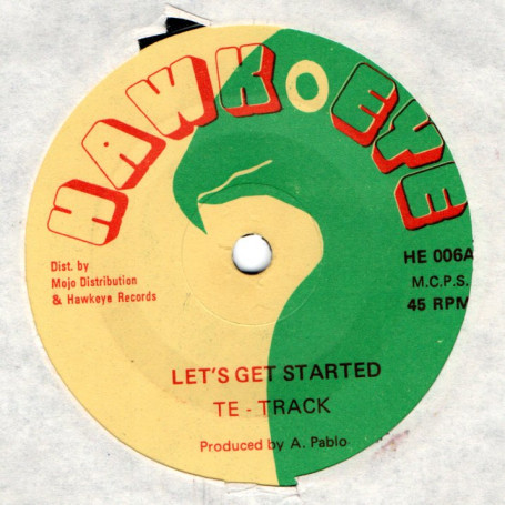 "(7"") TETRACK - LET'S GET STARTED / PABLO EXPERIENCE - GO IT"