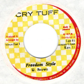 "(7"") U. BROWN - FREEDROM STYLE - VERSION"